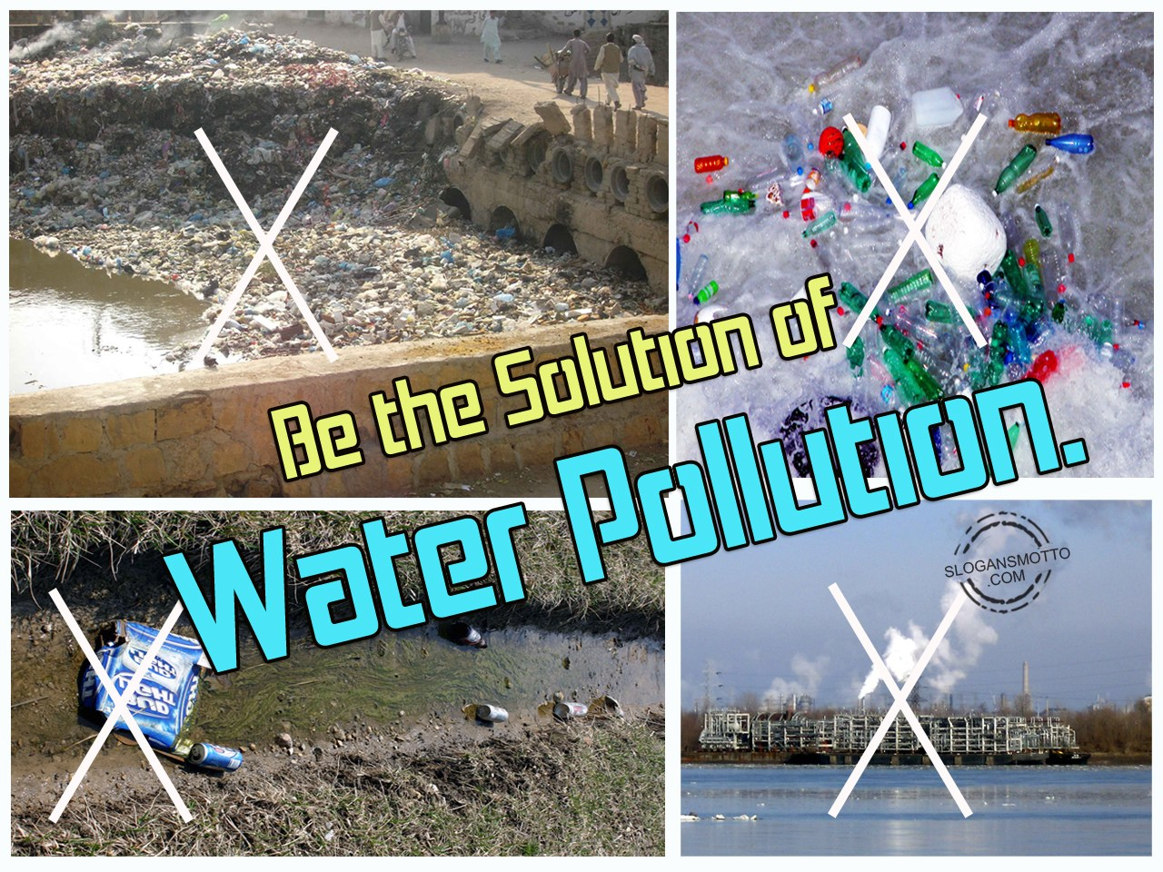 problem solution essay about water pollution