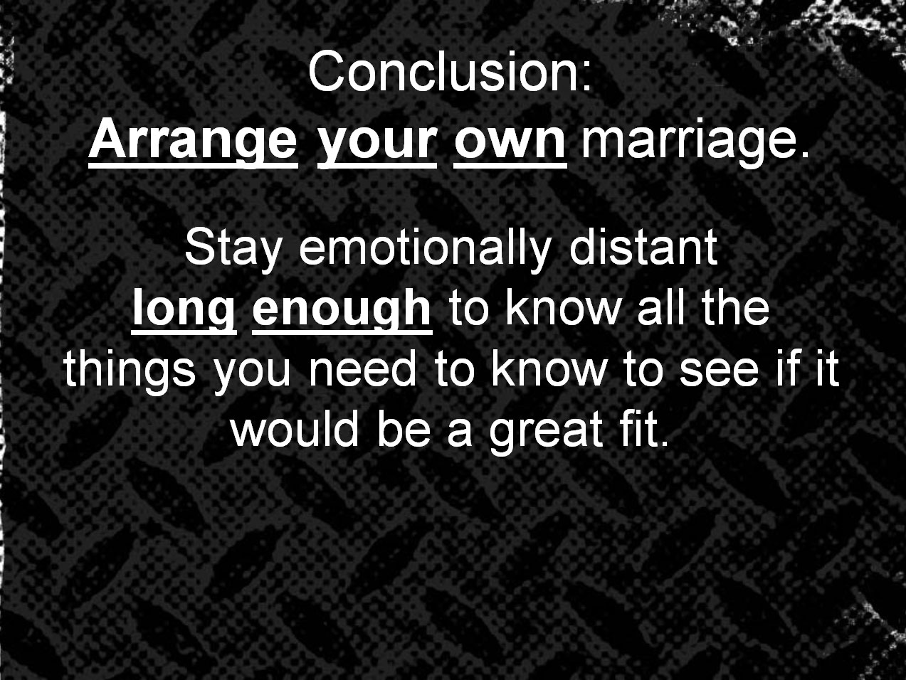 arranged essay marriage