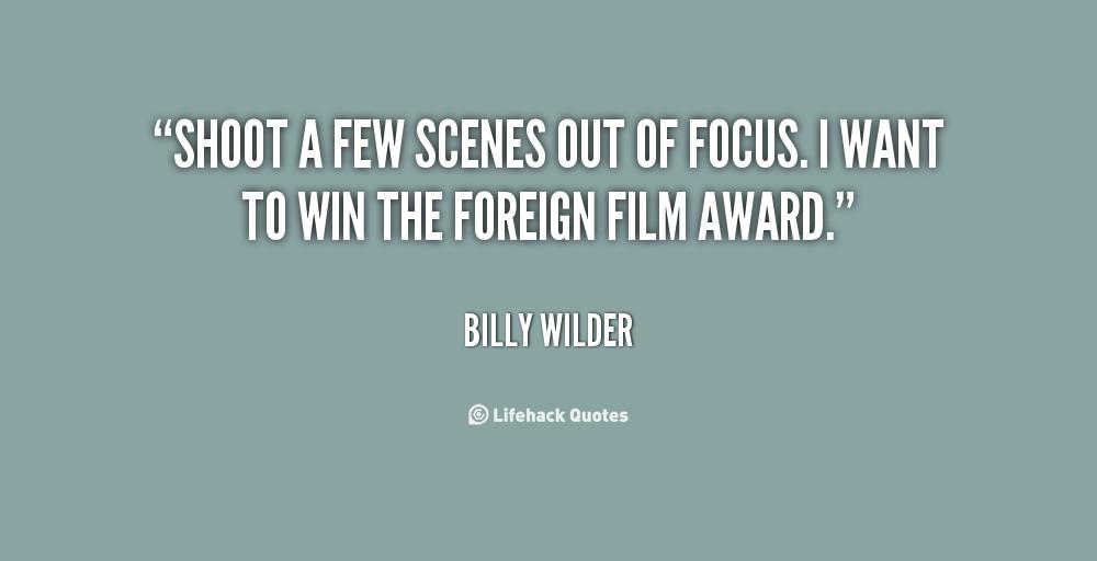 billy wilder quotes  quotesgram