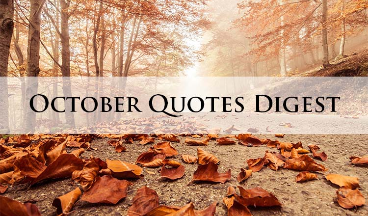 October Inspirational Quotes. QuotesGram