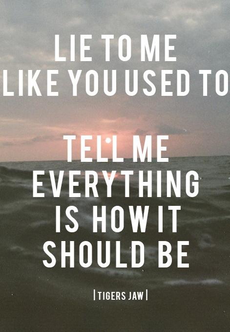 U Lied To Me Quotes. QuotesGram