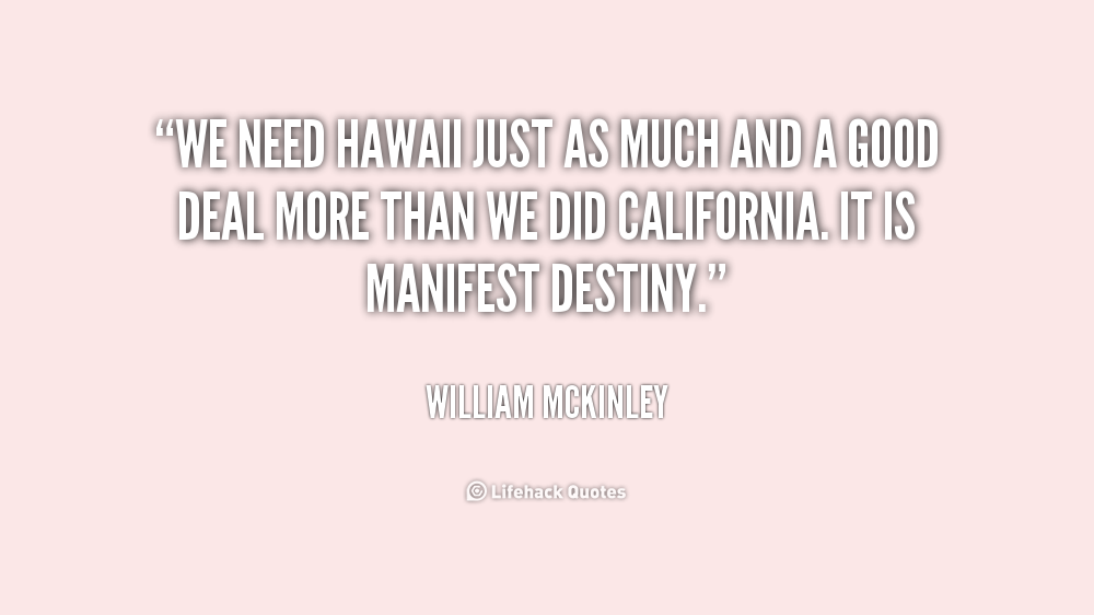 William Mckinley Quotes Quotesgram