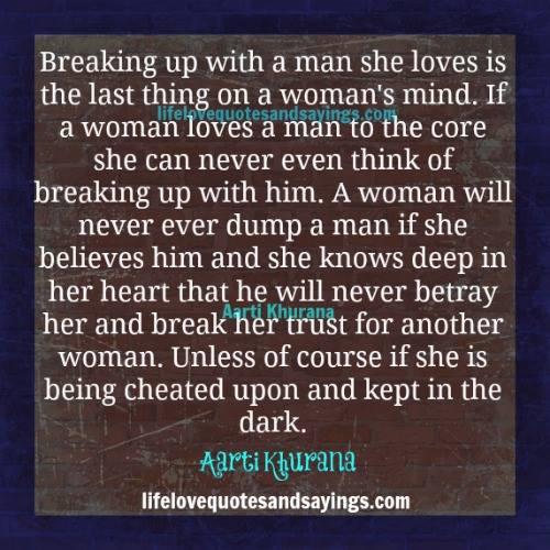 woman cheat