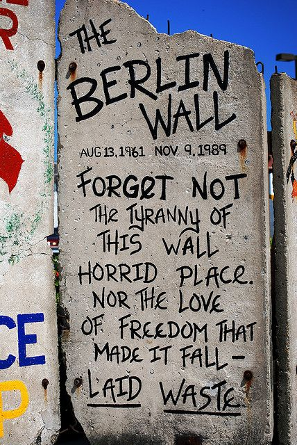 berlin wall quotes quotesgram. Black Bedroom Furniture Sets. Home Design Ideas