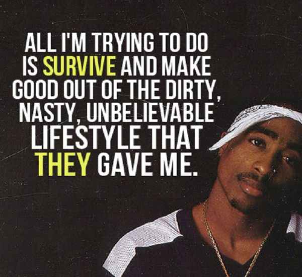 the life and death of 2pac Still i rise is an album by 2pac and the outlawz which is released as the third posthumous studio album of 2pac,  his double-disc album, life after death,.