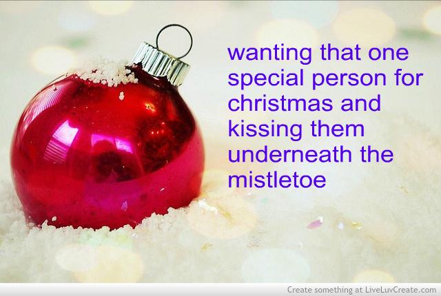 Love mistletoe quotes