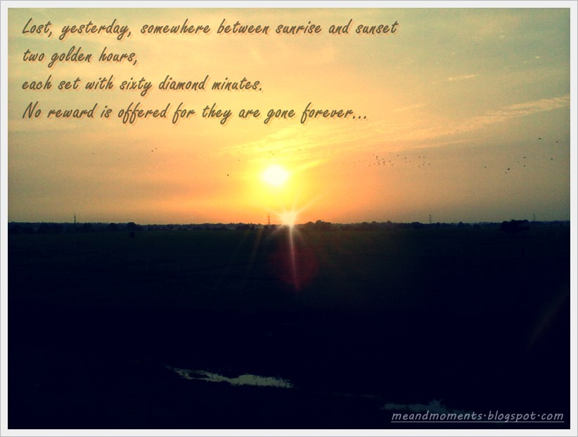 Beautiful Sunset Quotes. QuotesGram