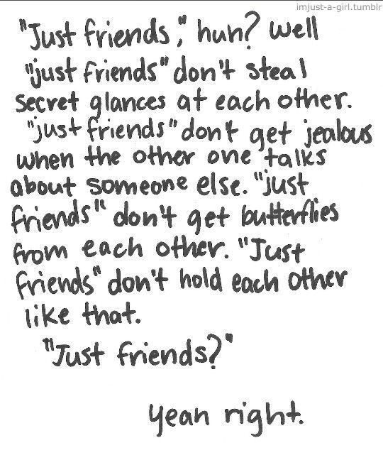 I Love You More Than Best Friend Quotes: Lets Just Be Friends Quotes. QuotesGram
