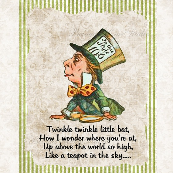 Alice In Wonderland Mad Hatter Quotes: Mad Hatter From Alice In Wonderland Quotes. QuotesGram