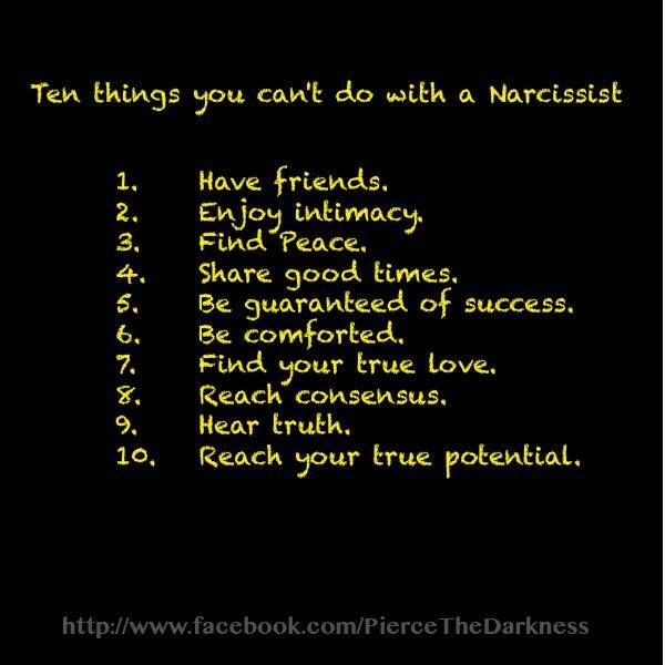 10 signs dating a narcissist