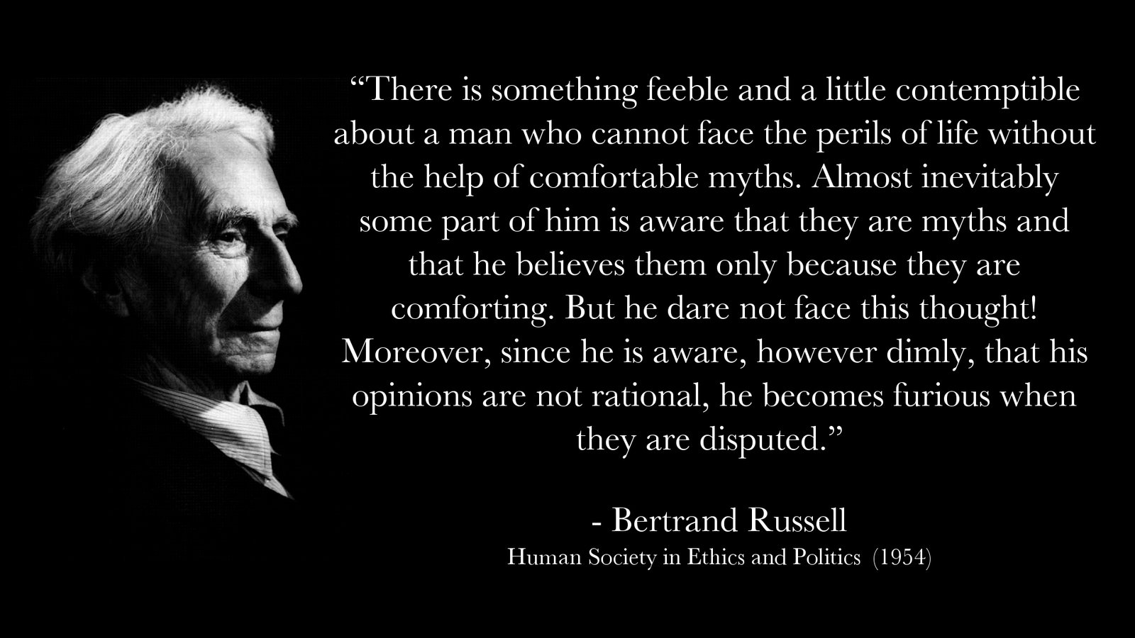 bertrand russell what i believe essay Brief description of bertrand russell's life with photographs  what i believe  russell bertrand speaks his mind.