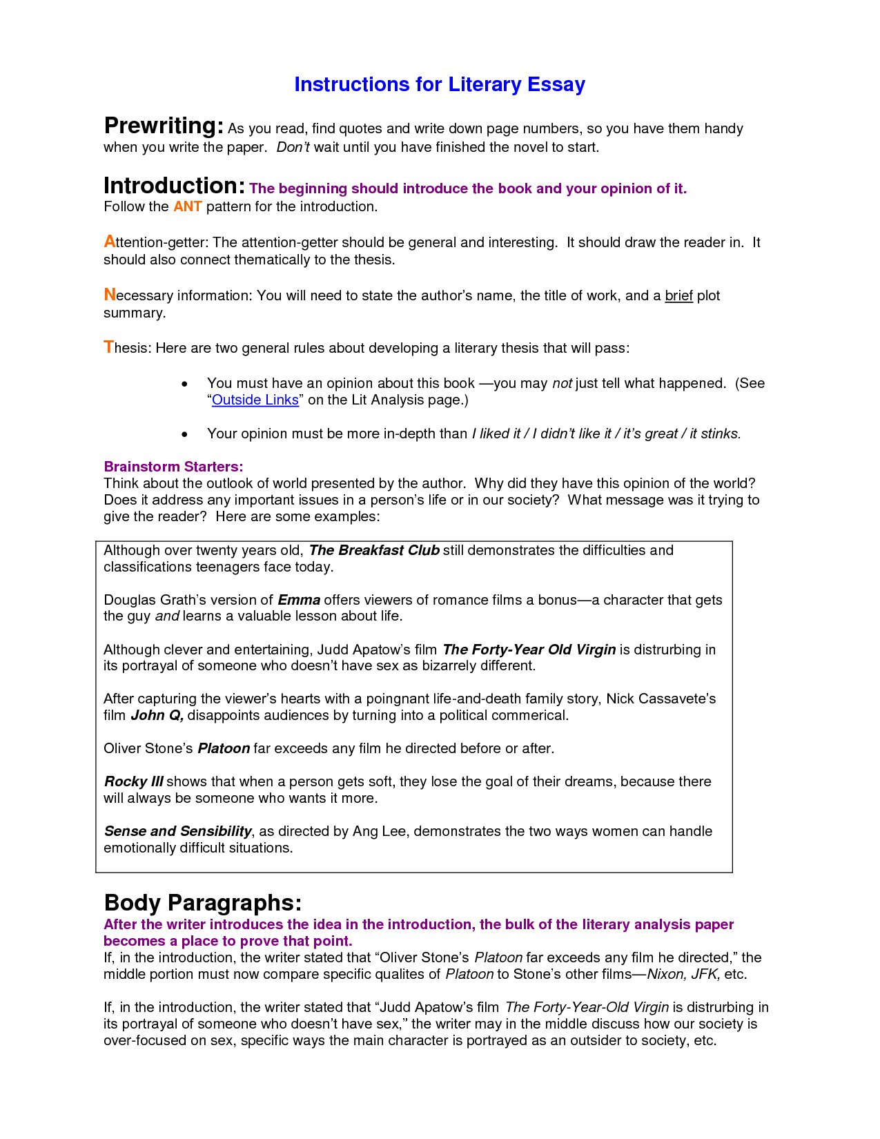 embed quotes essay There are three strategies you can use to embed quotations: set off quotations, build in examples of introducing quotes with a colon embedding quotations is important because the reader can follow the paragraph more easily.