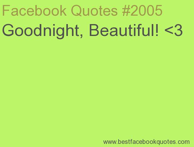 Beautiful Quotes For Facebook Status. QuotesGram