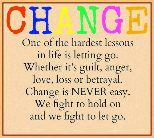 Funny Quotes About Life Changes: Funny Quotes About Letting Go. QuotesGram