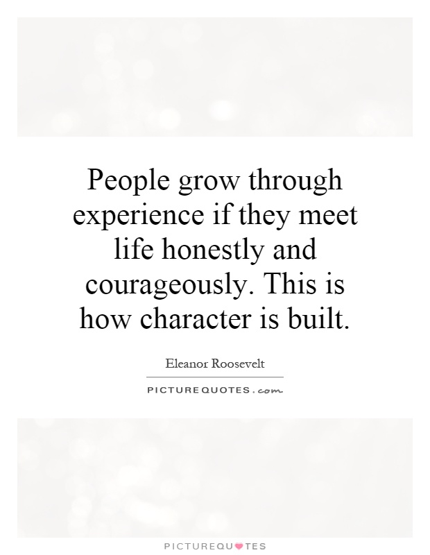 how to build character through integrity