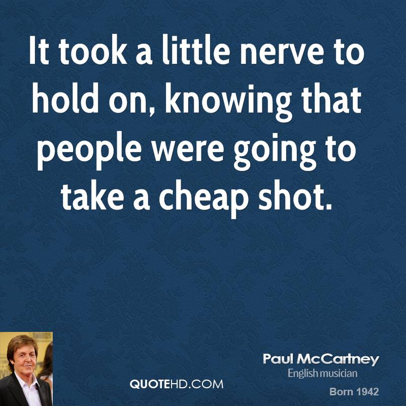 Quotes About People Who Notice: Paul Mccartney Quotes On Life. QuotesGram