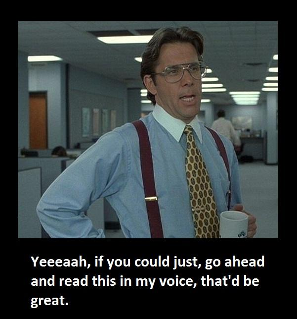 Great Office: Great Quotes From Office Space. QuotesGram