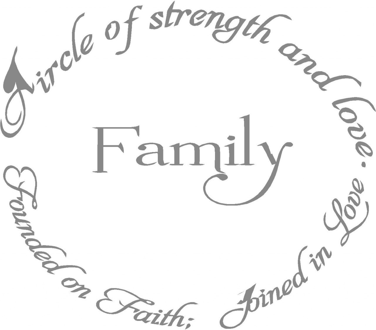 Bible Quotes About Family Strength. QuotesGram