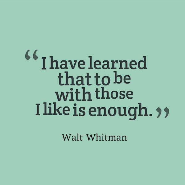 Walt Whitman Quotes Love: Walt Whitman Famous Quotes. QuotesGram