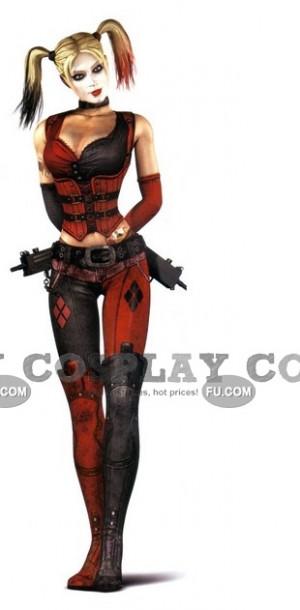 Harley Quinn Cosplay from Batman Arkham City