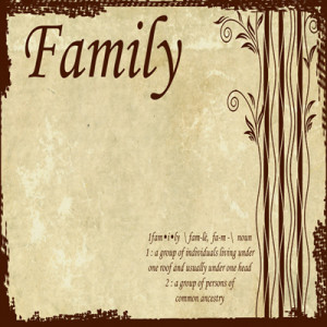 Family Scrapbooking Mother Father Son Daughter Family Scrapbooking ...