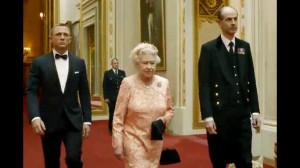 Queen Elizabeth, 2012 London Olympics, James Bond, Daniel Craig