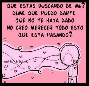 sad quotes of love in spanish