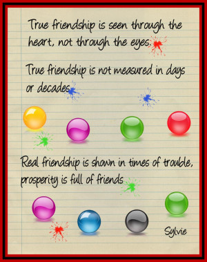 Quotes About Friendship And Happiness: True Friendship Is Give Love ...