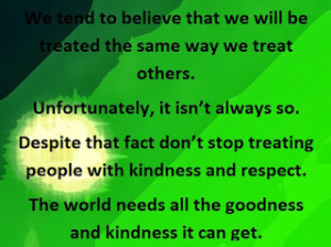 inspirational quotes about being nice to others