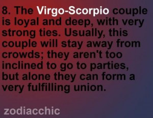 Looks like I need to find me a good Scorpio man!