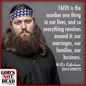 God's NOT Dead Willie Robertson
