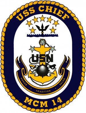 The Commanding Officer of USS CHIEF, Lieutenant Commander Jim Rushton ...