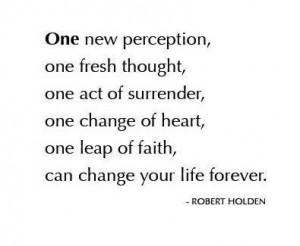 Favourite Quotes: One New Perception