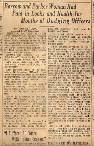 Bonnie Parker Quotes Bonnie parker's bloodied