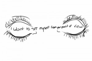 art mine quote eyes eye ipad Graphic