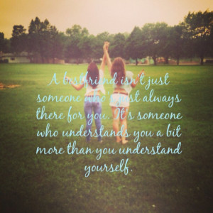 best friends picture quote