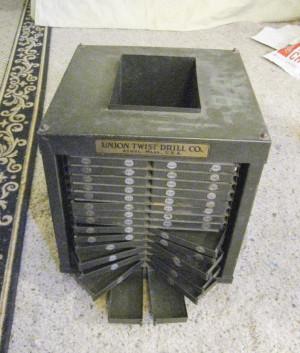 Thread: Union Twist Drill Sales Organizer Cube-FS