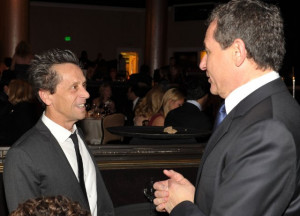 Brian Grazer and Robert A. Iger