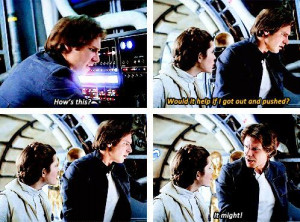 Han and Leia. I absolutely love them.