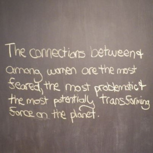 ... other girls compete with each other women empower one my fav quotes