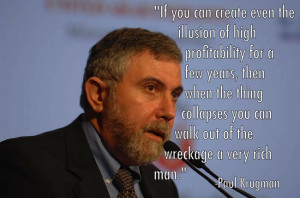 The Best Paul Krugman Quotes To-Date