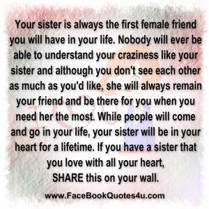 quotes about sisters fighting