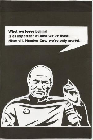 Star Trek birthday card front by BriAcorns