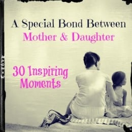 Special Bond Between A Mother And Her Daughter