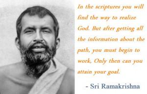 Sri Ramakrishna Quote