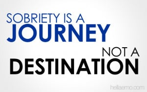 Sorbriety is a Journey