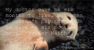 Walter Matthau Quotes Pictures