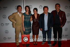 ... Jim Caviezel, Sarah Shahi and Kevin Chapman - Friday 4th October 2013