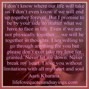 Our Life Together Quotes http://www.lifelovequotesandsayings.com/2013 ...