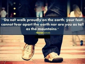 Stay Low Profile, Stay Humble #Islam